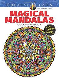 mandala coloring books adults
