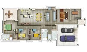 2d house plan house plans