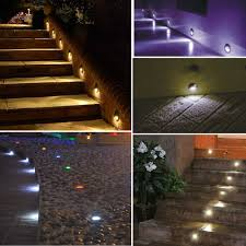 aliexpress com buy 0 6w dc12v led step light outdoor led deck