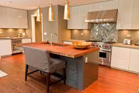 butcher block kitchen island 50 gorgeous kitchen island design ideas homeluf