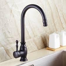 robinet noir cuisine cuisine évier robinet noir bronze cuivre imitation noir patine