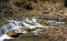 Kansas places to travel images Pillsbury crossing wildlife area and deep creek waterfall JPG
