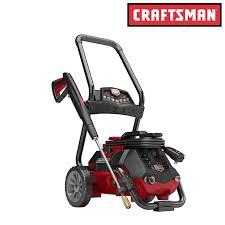 crafstman craftsman 2050 psi 1 4 gpm 2 in 1 electric pressure washer lawn