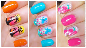 cute summer nail designs for short nails youtube