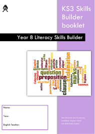 ks3 literacy skills builder booklets by hannahwoolerton teaching