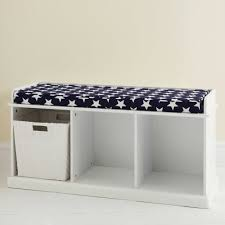 Cushioned Storage Bench Storage Bench With Cushion Dans Design Magz Storage