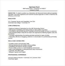 Resume Template Bartender Unforgettable Bartender Resume Examples To Stand Out Myperfectresume