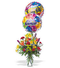 birthday balloon delivery los angeles birthday balloon bouquet tf42 1 60 00 florist los angeles