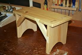 alexander woodworks shaker bench built with hand tools