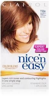light caramel brown hair color buy clairol nice n easy hair color 116b natural light caramel brown