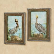pelican framed wall art set