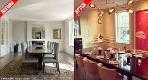 Ivanka Trump And Jared Kushner Transformed Their DC Home Daily - Trump home furniture