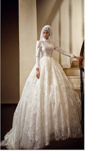 Mature Bride Wedding Dresses 2015 Muslim Wedding Dresses Arabic Clothing Ball Gown Lace Beading