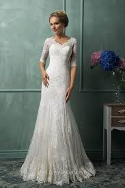 download vintage lace wedding dresses with sleeves wedding corners