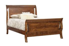 Bed Frames Tucson Tucson Rustic Sleigh Bed From Dutchcrafters Amish Furniture