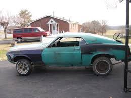cheap 1970 mustang for sale 1970 mustang grabber green rustingmusclecars com