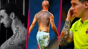 us soccer tattoo the best and awesome footballer tattoos youtube