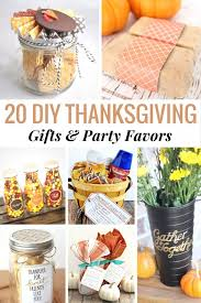 20 diy thanksgiving gifts favors easy thanksgiving crafts