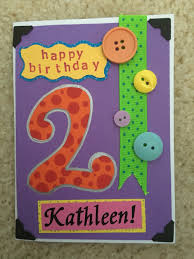 colors birthday invitation card for 2 year old baby plus