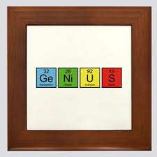 periodic table framed art periodic table elements wall art cafepress