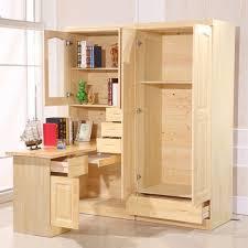 Corner Bookcase Wood All Solid Wood Desk With Simple Desktop Home Computer Corner