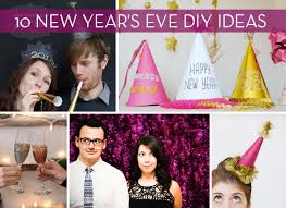 Decorate For New Years Eve At Home by 10 New Year U0027s Diy Photo Booth And Party Craft Ideas Curbly