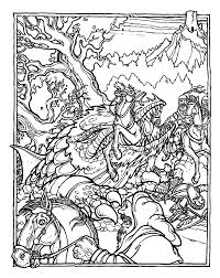 dungeons and dragons coloring book 224 coloring page