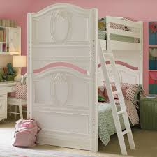 Girls Bunk Beds Cool Bunk Beds For Girls Full Over Full Metal - White bunk beds with desk