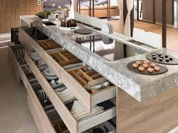 cuisine ilot table cuisine avec îlot central 43 idées inspirations