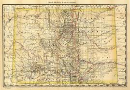Map Of Colorado State by 1879colo Jpg