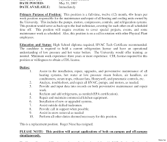 resume format sle images of resignation best solutions of air conditioning installer cover letter for your