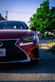 lexus rc f headlights review 2016 lexus rc 300 awd canadian auto review