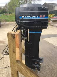 25hp mercury blueband outboard boat engine including remotes long