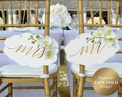 wedding chair signs wedding chair sign etsy