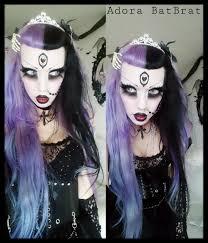 adora batbrat today u0027s goth look emo goth