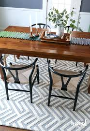 Round Sisal Rugs by Rug Placement Dining Room Round Persian Under Table In Or Not