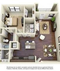Bedroom Flooring Ideas by 50 One U201c1 U201d Bedroom Apartment House Plans Washer Natural Light