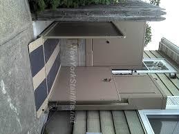 vertical platform lift install photos