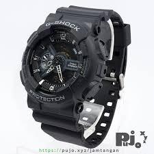 Harga Jam Tangan G Shock Original Di Indonesia jual g shock ga110 1b jam tangan pujo xyz