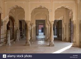 interior pillars hawa mahal palace of the winds interior pillars jaipur rajasthan