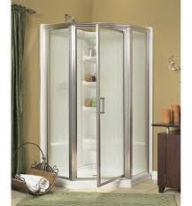 38 Neo Angle Shower Door 38 Neo Angle Shower Kit Nickel Rainfall Asb Bathing Systems