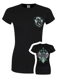 Harry Potter House by Harry Potter House Slytherin Ladies Black T Shirt Buy Online At