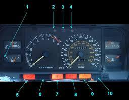 toyota camry dash lights toyota mr2 1 warning lights