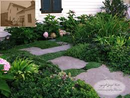 stepping stone path design a small path from the driveway u2026 flickr
