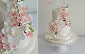 cherry blossom wedding cherry blossom wedding cakes cake magazine