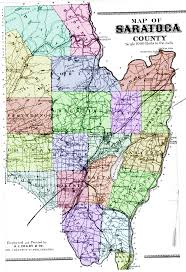 New York Zip Codes Map by Map Of Saratoga County Ny Atlas