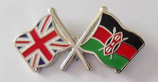 Flag Of Kenya Kenya And United Kingdom Friendship Flag Pin Badge T782