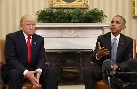 trump redesign oval office barack obama donald trump forge an unlikely rapport wsj