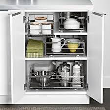 Steel Frame Kitchen Cabinets Amazon Com Simplehuman 20 Inch Pull Out Cabinet Organizer Heavy