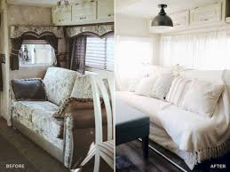 42 amazing rv camper makeover ideas before and after collections